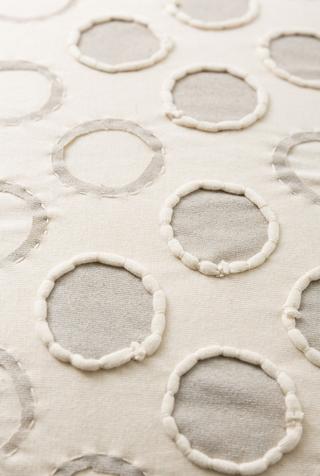 The school of making polka dot pillow diy sewing kit 5