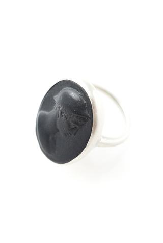 Handcrafted porelain ring marcie mcgoldrick 2