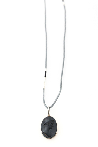 Cameo Necklace by Marcie McGoldrick