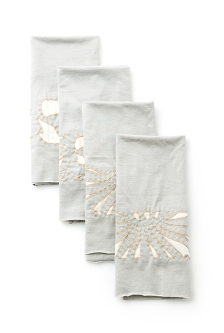 The school of making magdalena tea towels diy embroidery kit 3