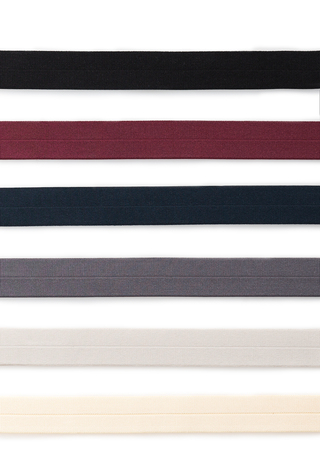 Fold-Over Elastic Ribbon