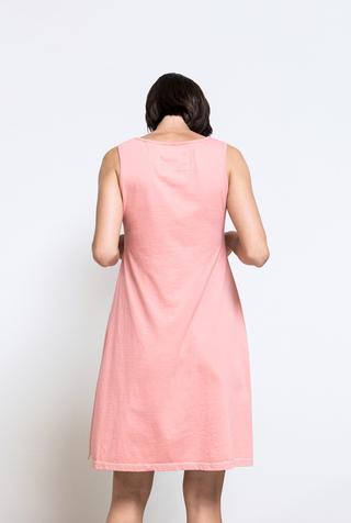 Alabama chanin organic cotton racerback dress 3