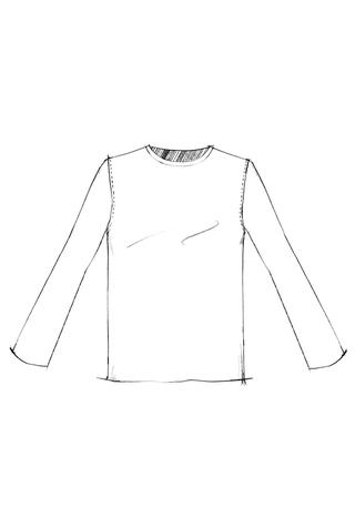 The school of making unisex t shirt pattern 1