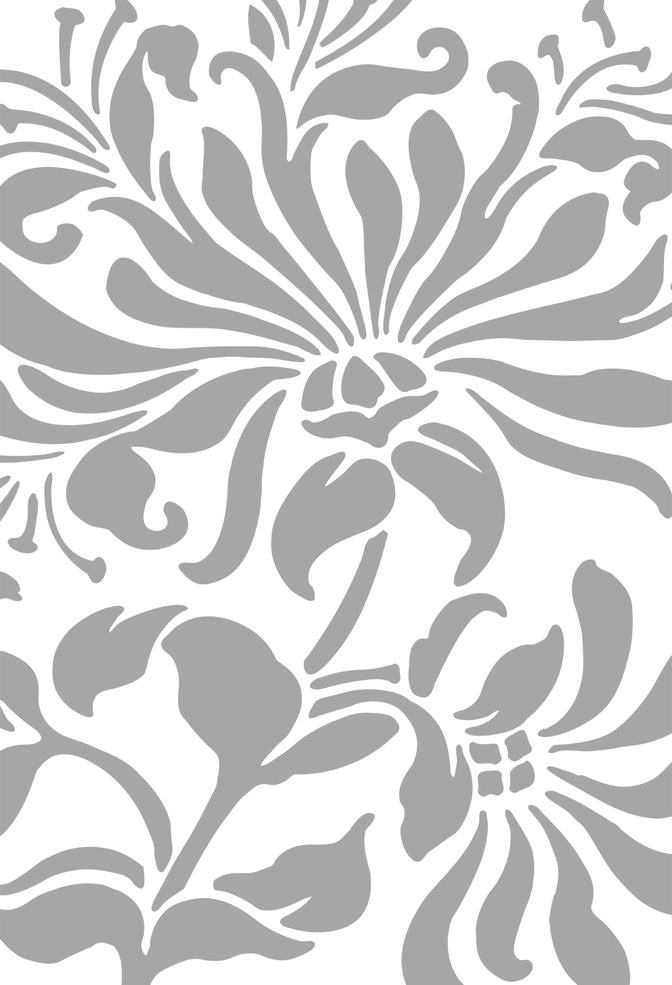 The school of making magdalena stencil 1 grey